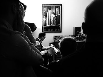 Christian au piano