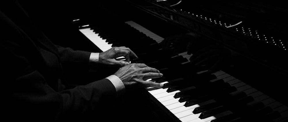Jazz piano player