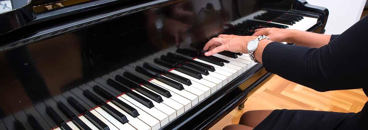 Entrainement au piano